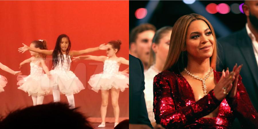Seguindo os passos da mãe: Blue Ivy encanta em apresentação de dança da escolinha