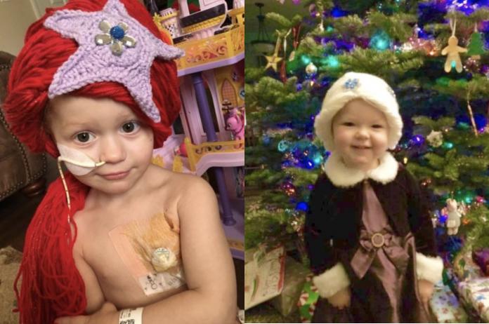 Corrente do Amor: enfermeira cria peruca de princesas para alegrar meninas com câncer