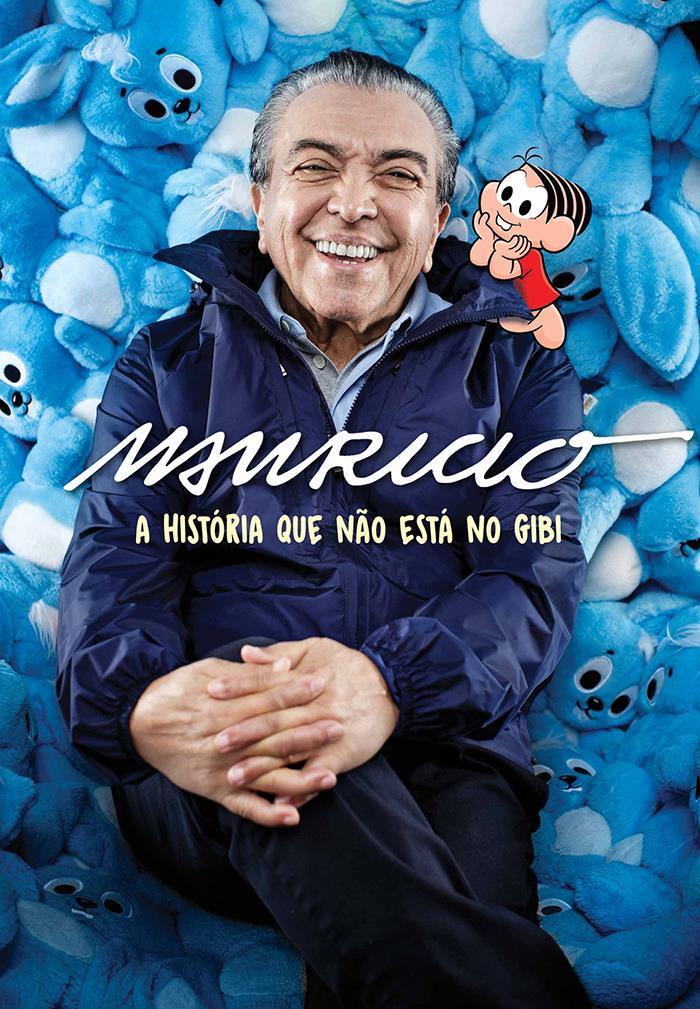Chega nas livrarias a primeira biografia de Maurício de Souza
