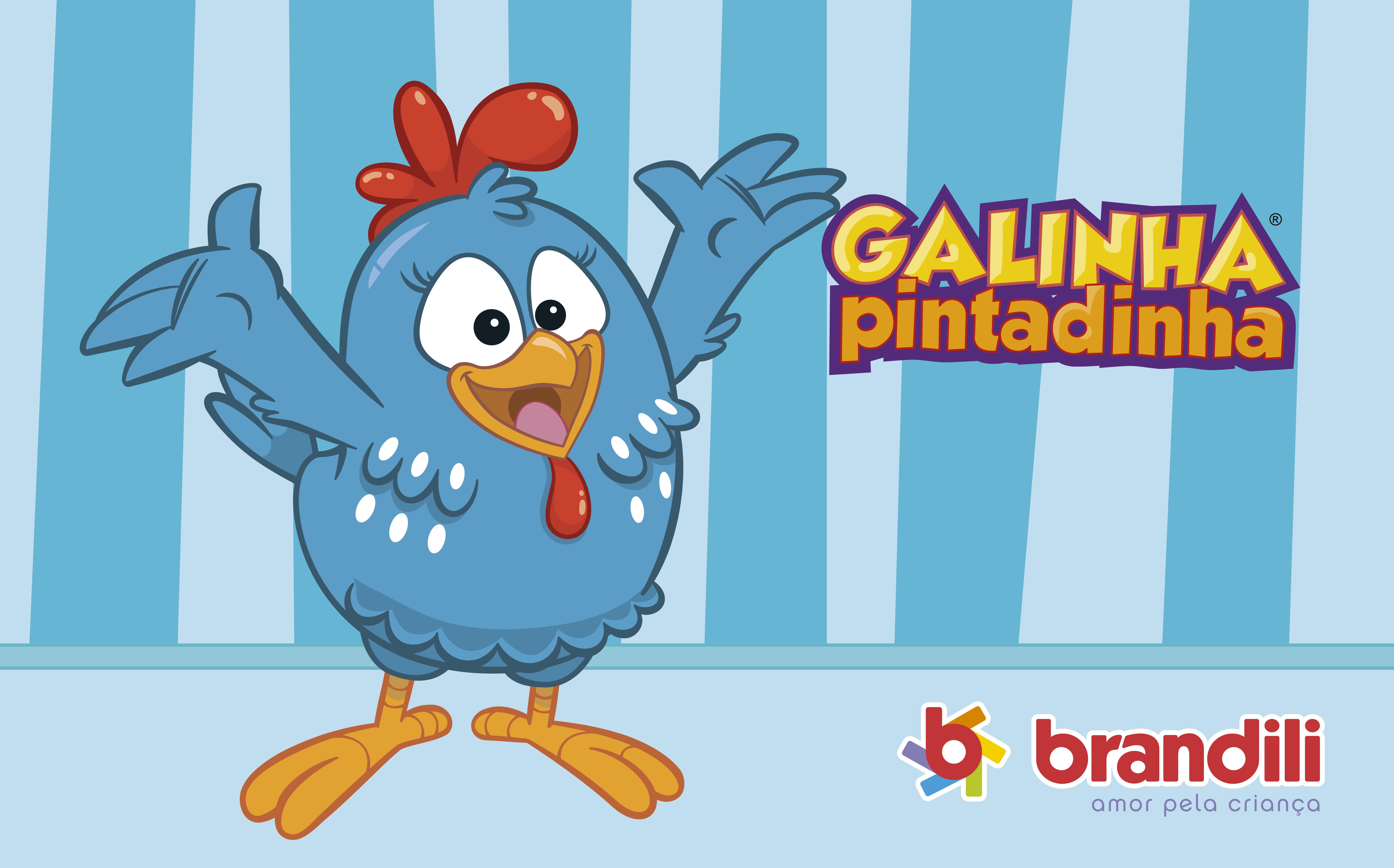 2789a001dd7 Galinha Pintadinha  a personagem mais adorada pelos pequenos chegou na  Brandili!