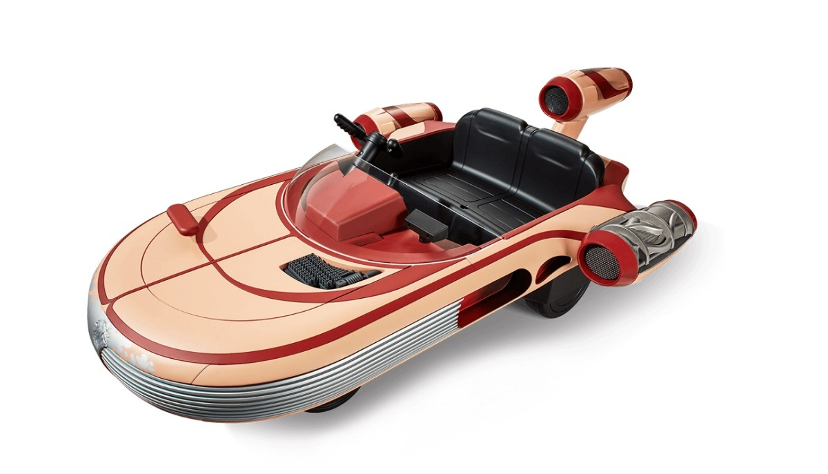 Jogos e Brinquedos: empresa americana lança réplica da nave do Star Wars para crianças