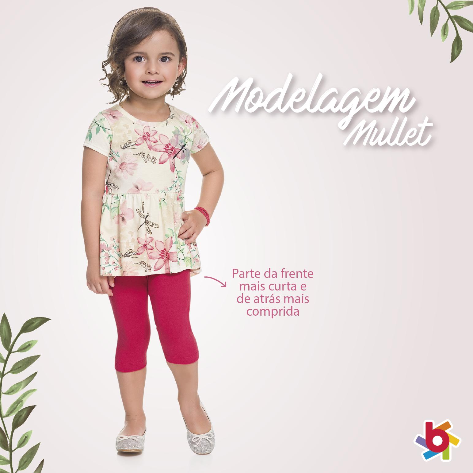 Modelagem mullet: a tendência do momento para as meninas