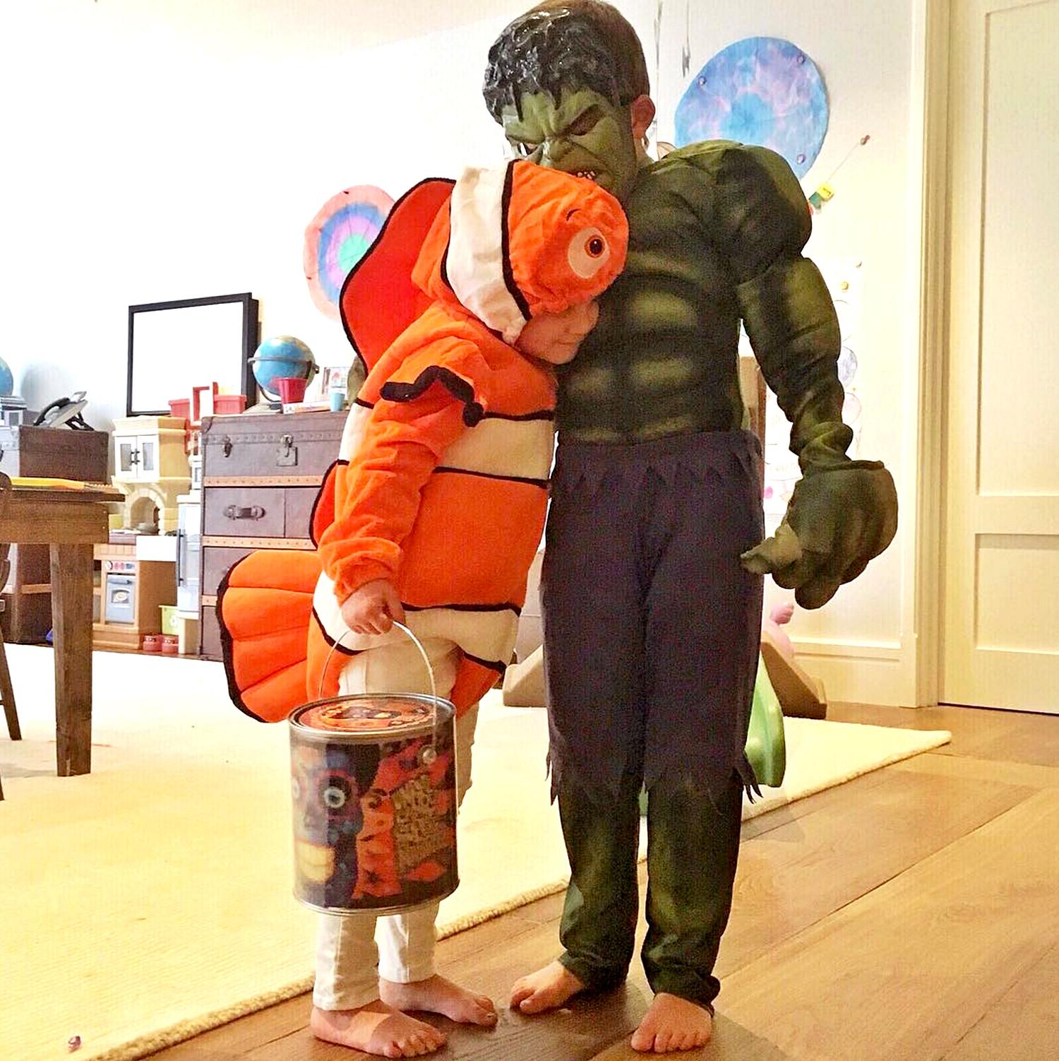 Filhos de famosos: as fantasias mais fofas do Halloween