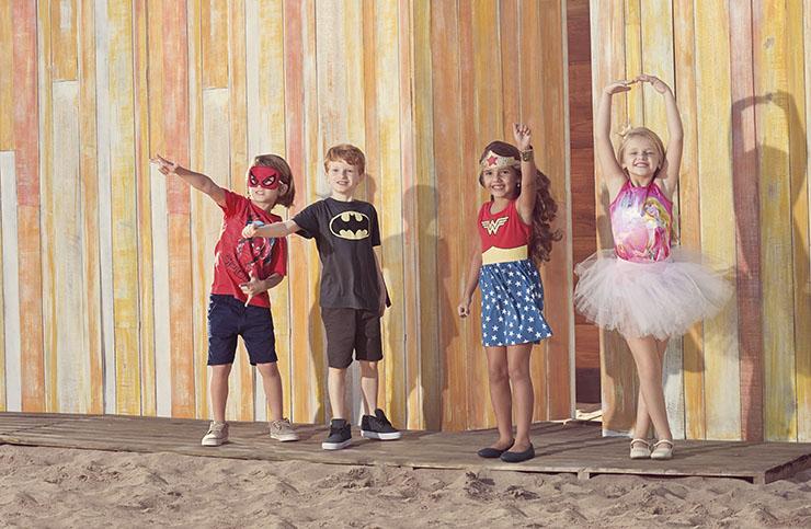 Para curtir as férias: estampas com os personagens favoritos dos pequenos