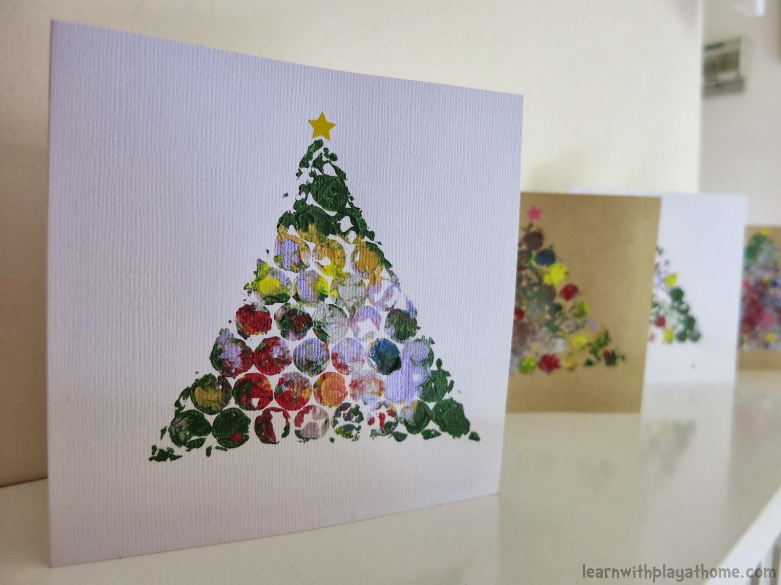 DIY: ideais de cartão de Natal para fazer em casa