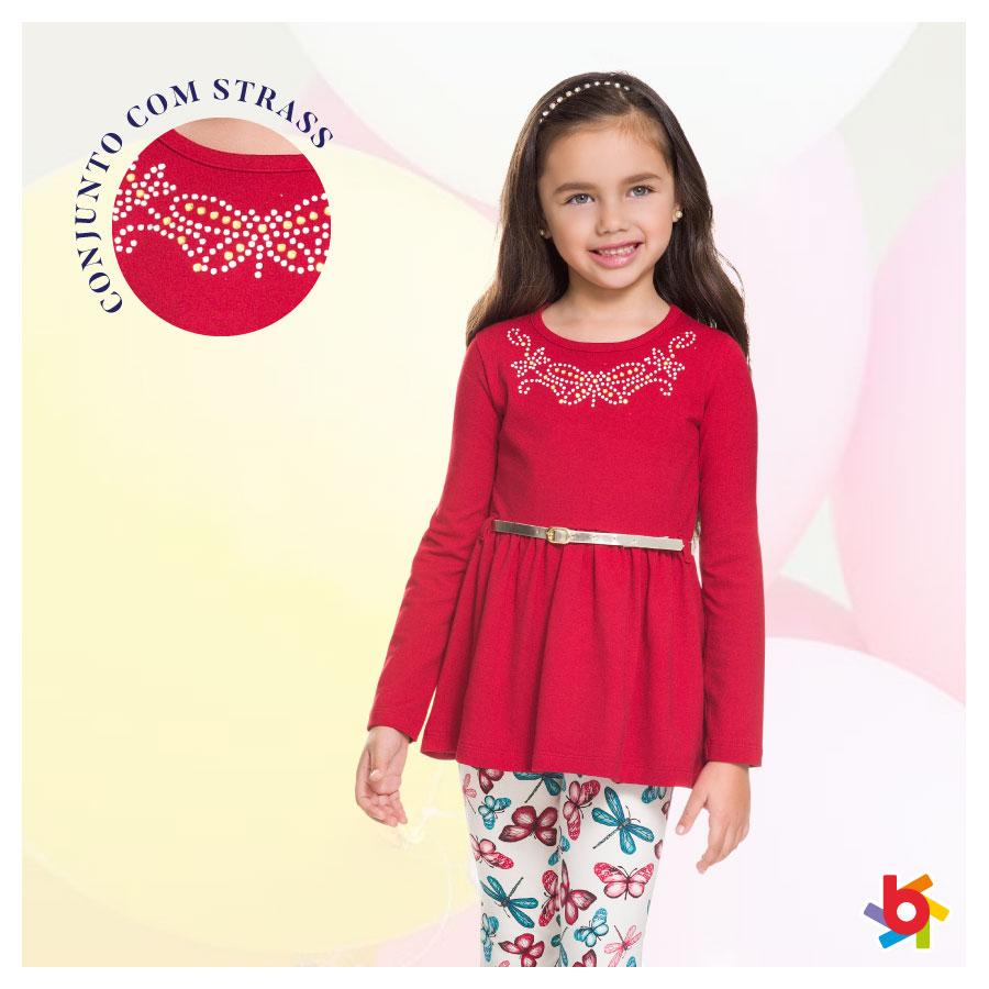 Conjuntos com legging estampada: aposta certeira para o inverno das meninas