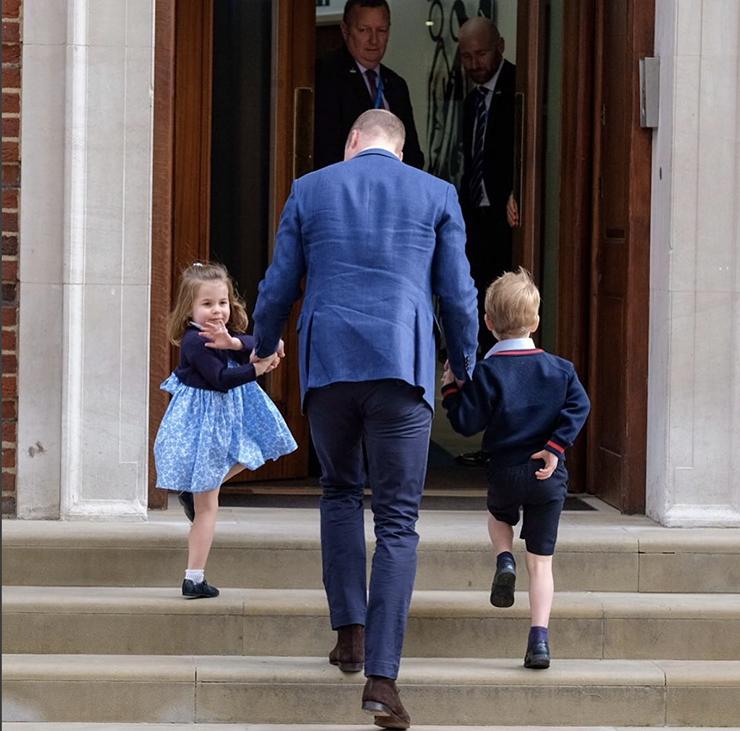 Bebê real: nasce terceiro filho do casal de Kate Middleton e William