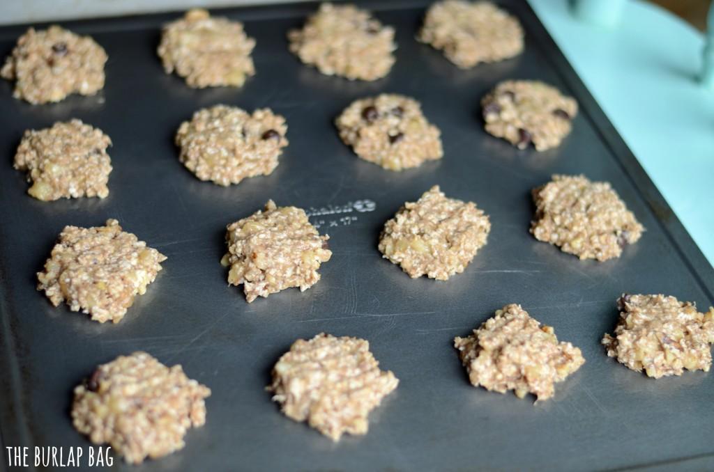 Aprenda a preparar um delicioso cookie de banana com apenas dois ingredientes