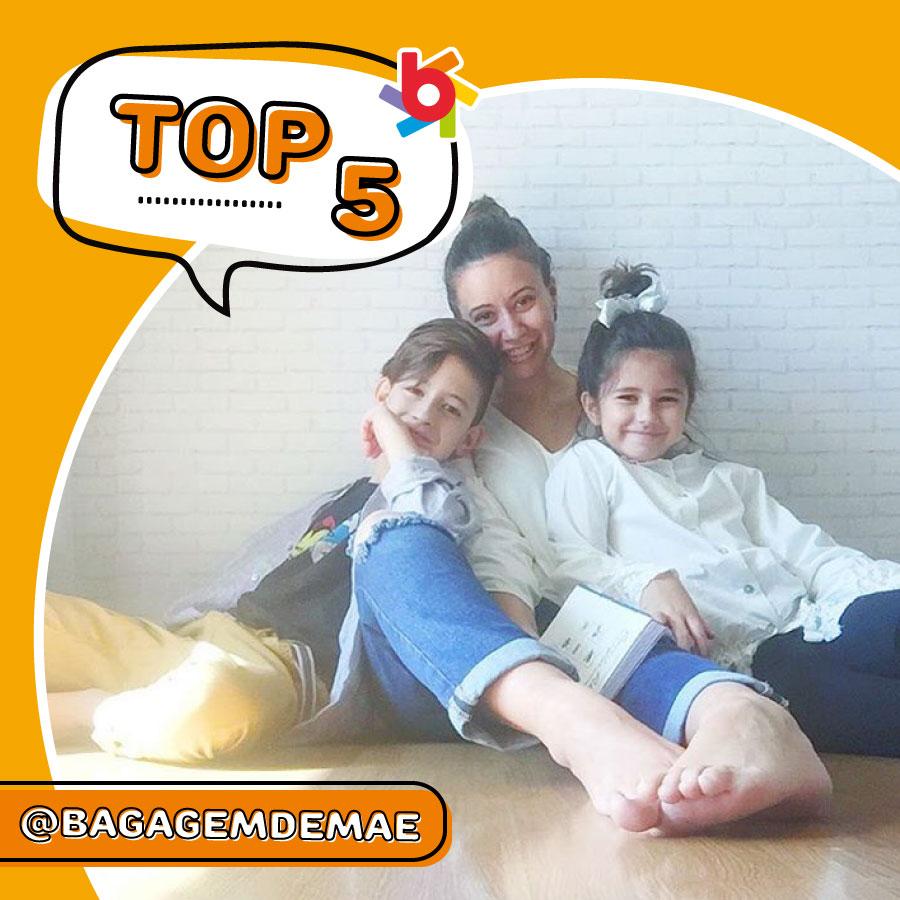 TOP 5 Brandili: confira as dicas que a Bagagem de Mãe deixou no nosso Instagram!