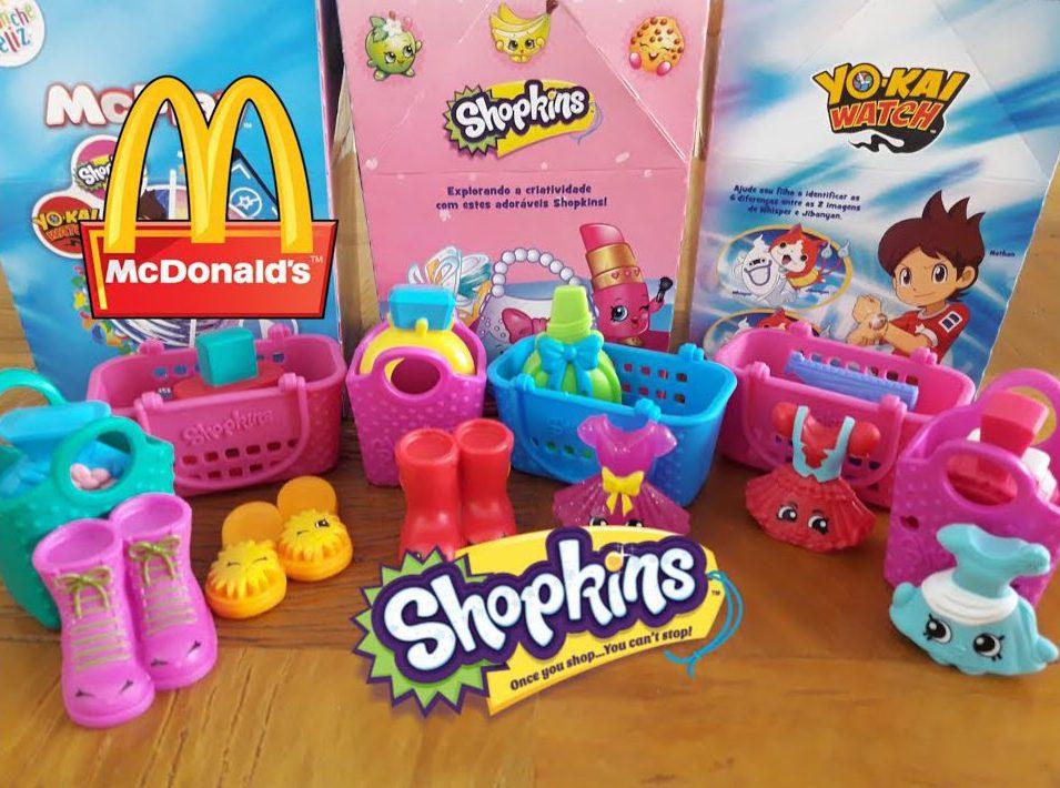 Shopkins: brinquedo febre entre as crianças está no McLanche Feliz