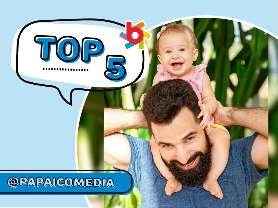 TOP 5 Brandili: confira as dicas que o Papai Comédia deixou no nosso Instagram!
