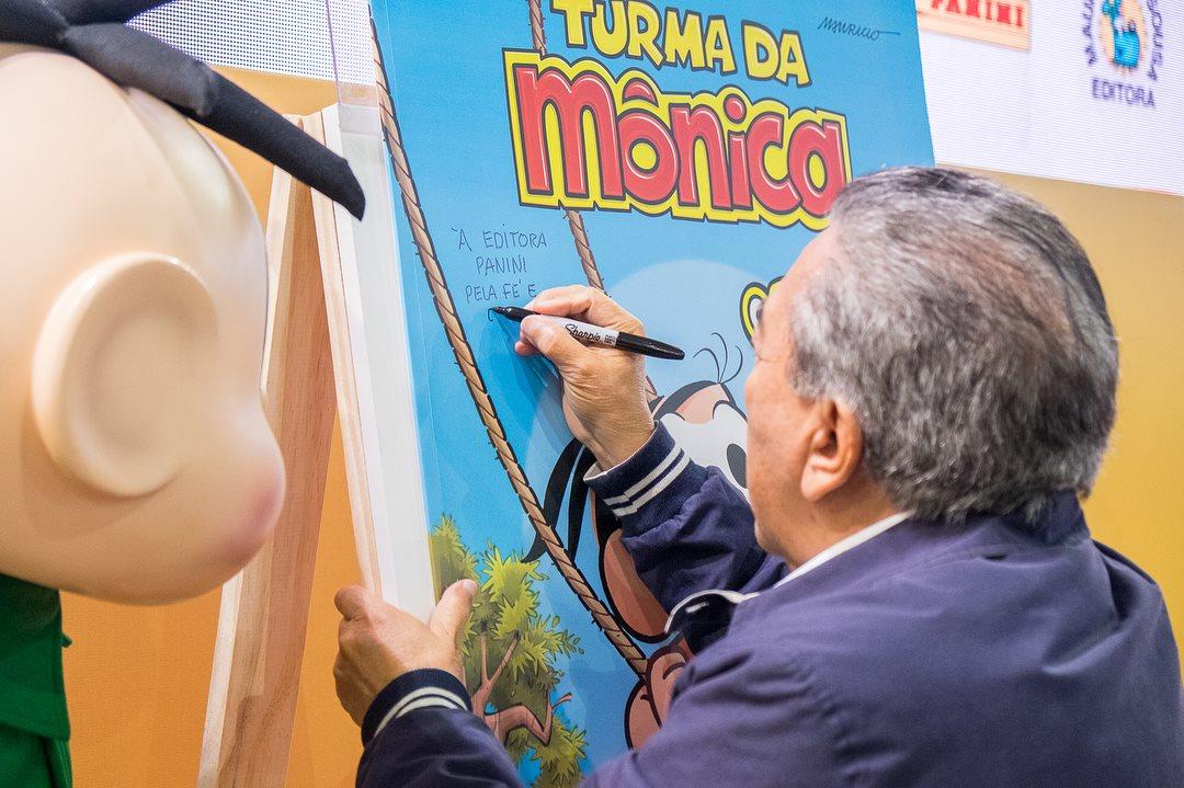 Turma da Mônica entra para o Guiness World com o maior gibi do mundo