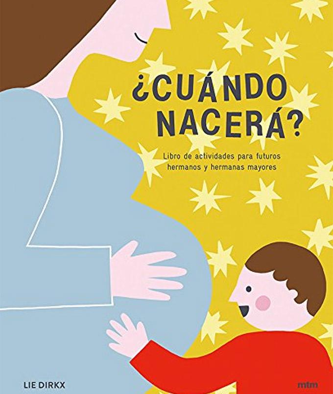 '¿Cuándo nacerá?': livro de atividades para futuros irmãos