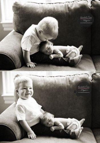 Fotos que demonstram o amor único entre irmãos