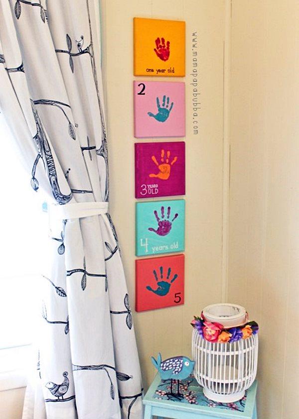 DIY: ideias de decoração para o quarto dos pequenos