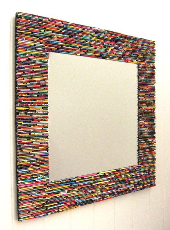 10 ideias criativas de espelhos para os pequenos