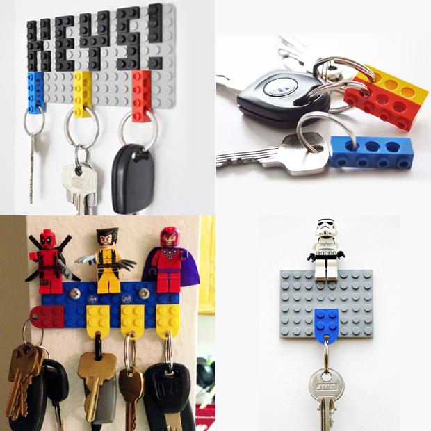 10 ideias de decoração com Lego