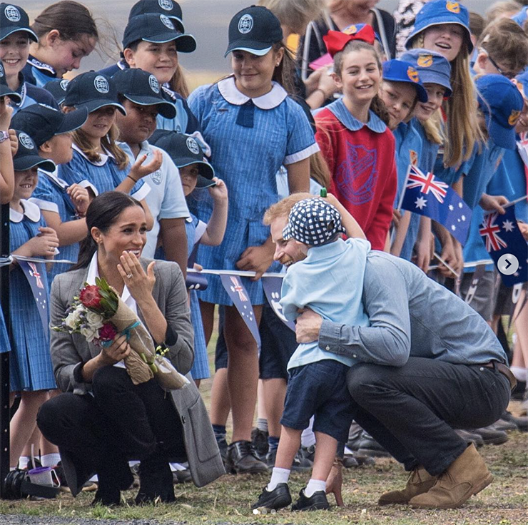 Meghan Markle e príncipe Harry estão esperando seu primeiro filho