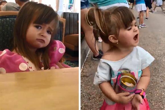 Menina brasileira pede cuscuz na Disney e vídeo ganha Internet