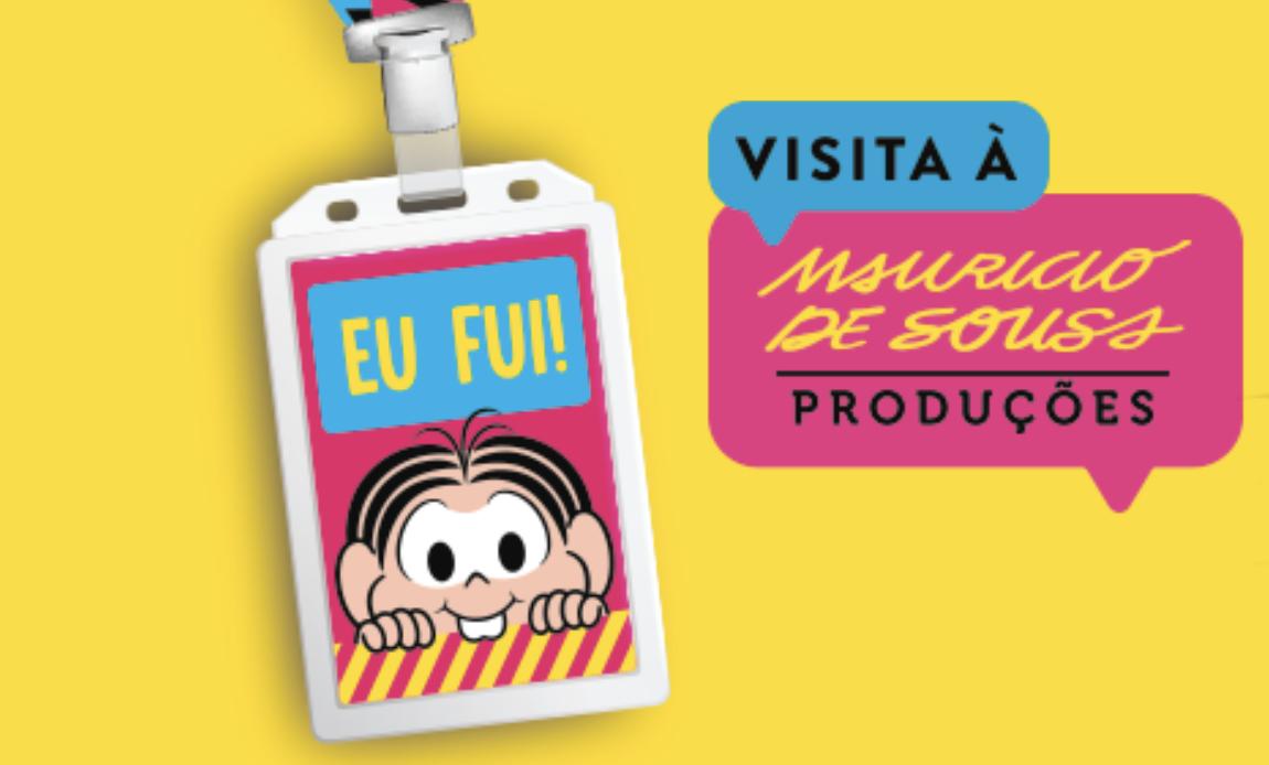 Programa divertido de férias: visita aos estúdios da Turma da Mônica
