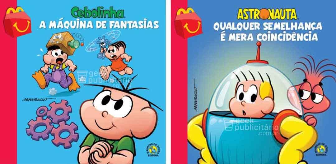 McLanche Feliz trará coleção de livros da Turma da Mônica no Brasil