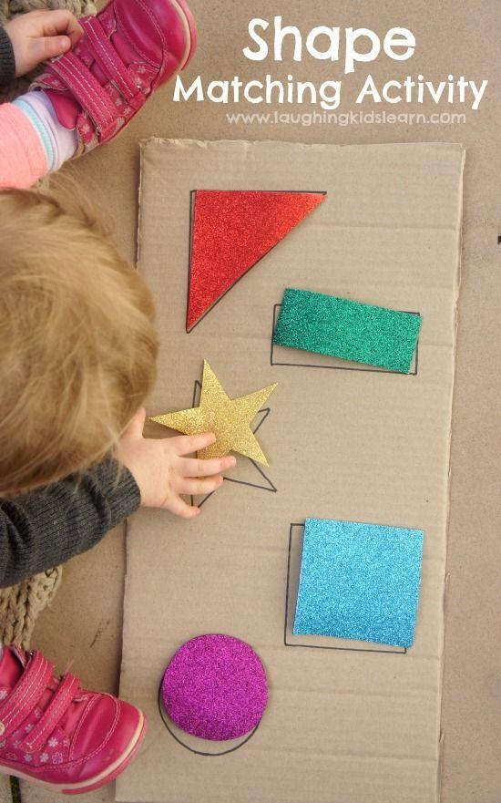 DIY: atividades infantis com formas geométricas
