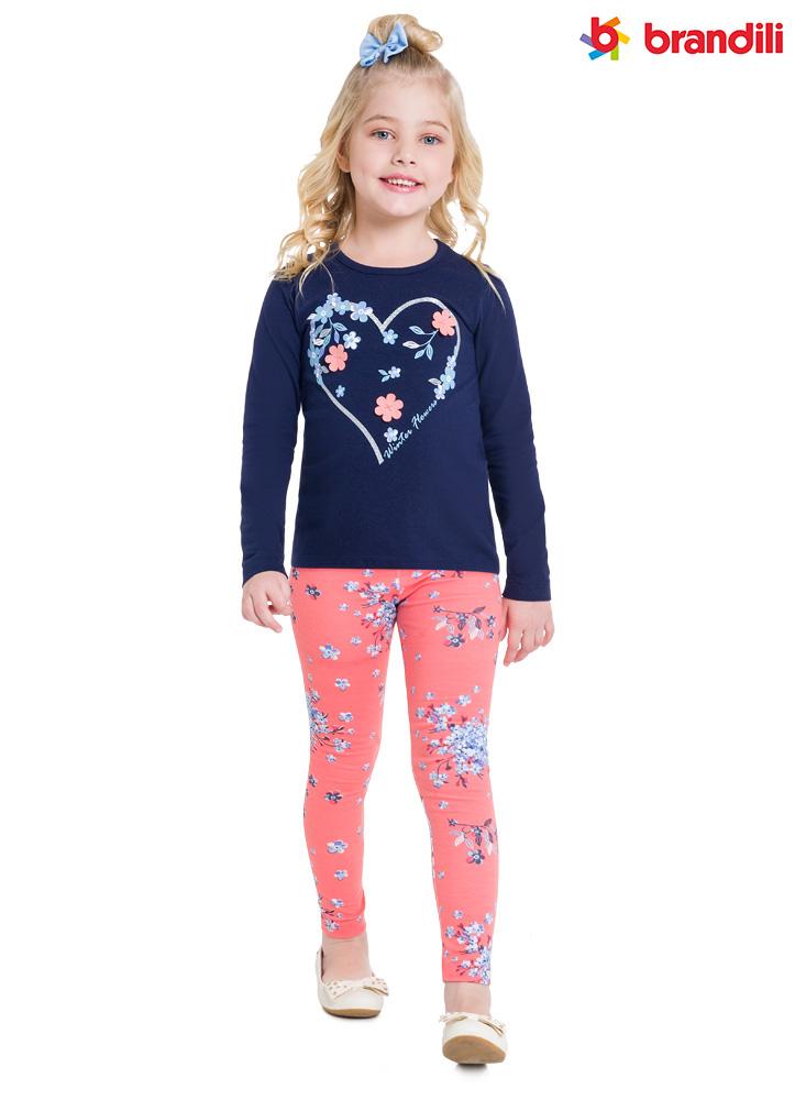 Novidades em leggings para o inverno das meninas