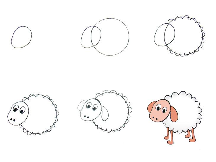 Desenhos Fáceis Para Fazer Com Os Pequenos Blog Moda