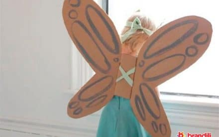 asas de papelão