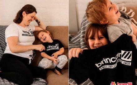 pijamas para mãe e filho